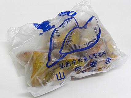 山田商店(弘前市中央食品市場内) 大学いも