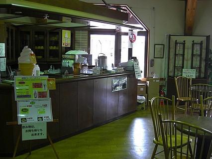 道の駅「奥入瀬」 奥入瀬ろまん パーク 観光物産館 四季彩館 喫茶コーナー