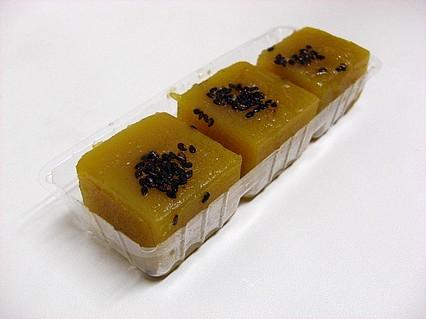 ファミリーマート ひとくち芋ようかん 中身-1