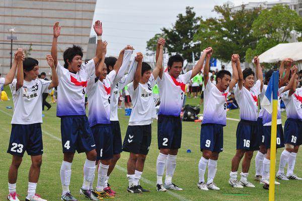 2010東海社会人リーグ第15節 vs藤枝市役所10