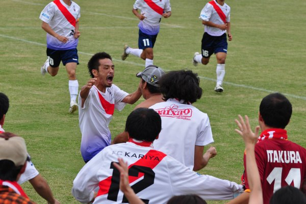 2010東海社会人リーグ第15節 vs藤枝市役所7