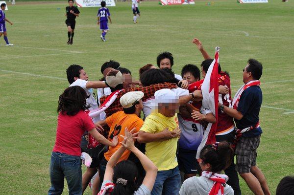 2010東海社会人リーグ第15節 vs藤枝市役所9