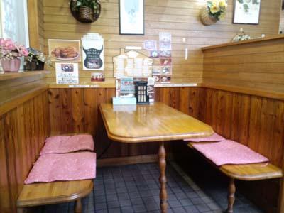 レストラン野苺ボックス席