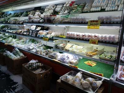 嬬恋マート生鮮野菜コーナー