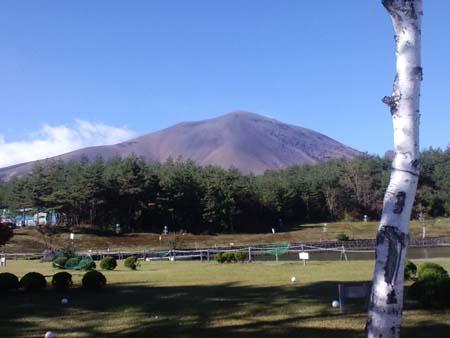 H2410月浅間山