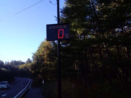 H2410月温度計0℃