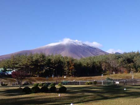 H24初冠雪浅間山