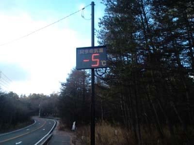 H2411月温度計-5℃