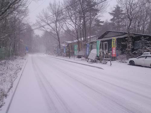 H24.12.1 降雪中