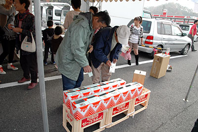 米-1グランプリ投票箱