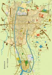 明治43年名古屋市地図