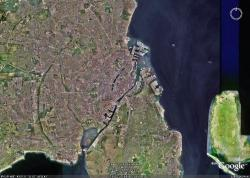 Google Earth をキャプチャー