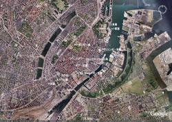 Google Earth をキャプチャー + 地名加筆