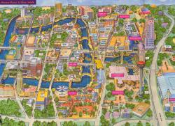 SanAntonio-RiverWalk Map