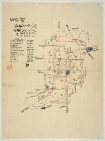 愛知郡村邑全図 053 古井村
