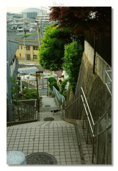 蝮ヶ池階段