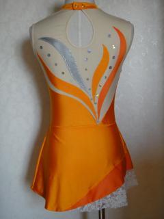 Orange Flame 7