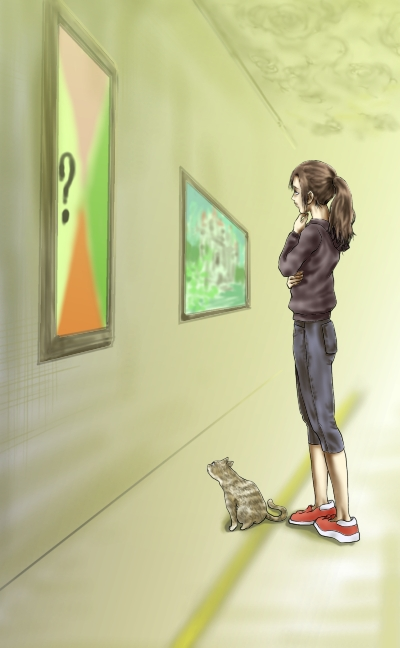 ミィーコと絵画14改