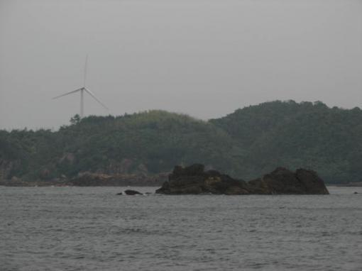 遠島を望む