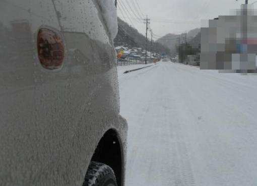 11116 雪道