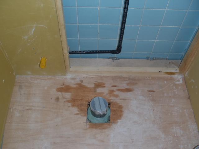 トイレ施工中①