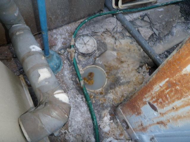 下水詰り高圧洗浄作業 西宮市 某会社