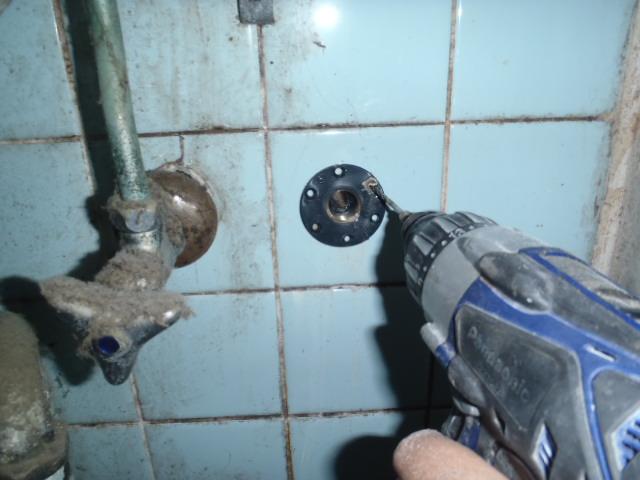 給水栓の取り付け