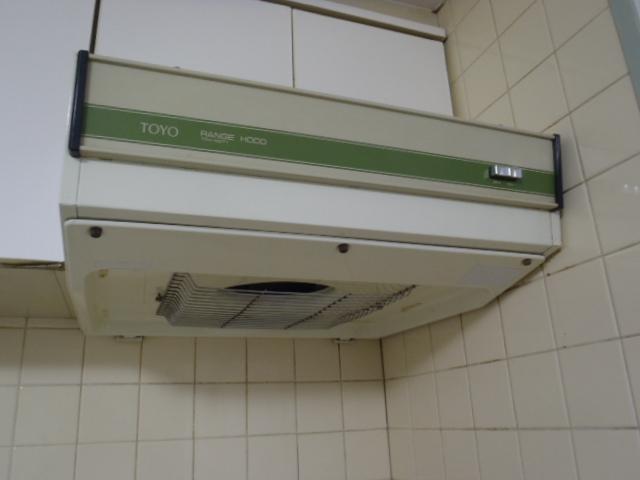 キッチン換気扇の取替え 神戸市東灘区