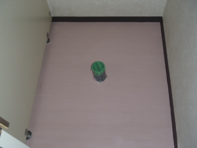 床のシート張替え後