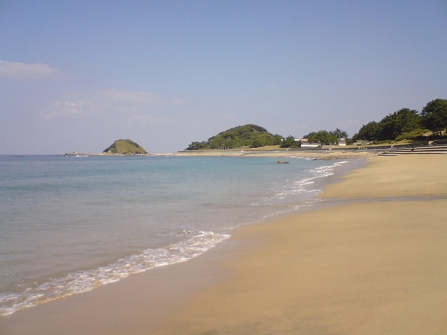 志賀島の勝馬海岸