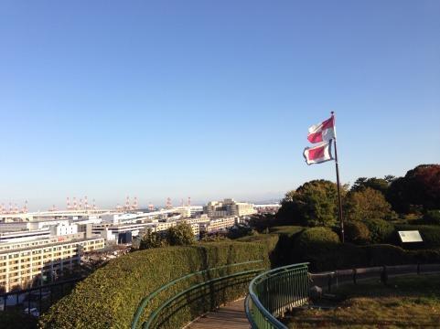 横浜港の見える丘公園2
