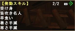 高防御笛スキル3