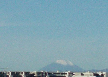 富士山積雪~♪