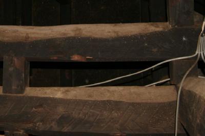 手斧はつり跡