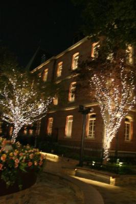 三菱美術館ライトアップ