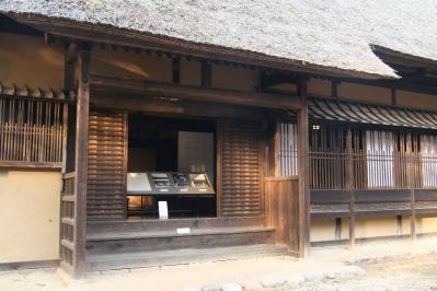 平野家式台付き玄関