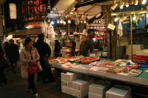 近江町市場魚屋