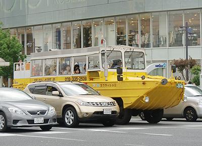 水陸両用バス:スプラッシュ神戸