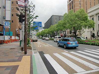 三宮駅付近の通り