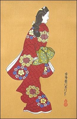 菱川師宣『見返り美人』