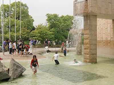緑町公園の水辺