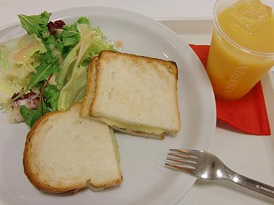 アンデルセンのトーストセット