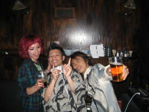 Yaz, Jun & Shuta