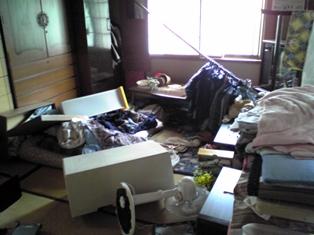 地震(ばばの部屋)