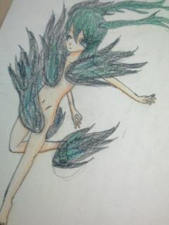 遊戯王 黒焔トークンを笹の羽が描くとこうなる