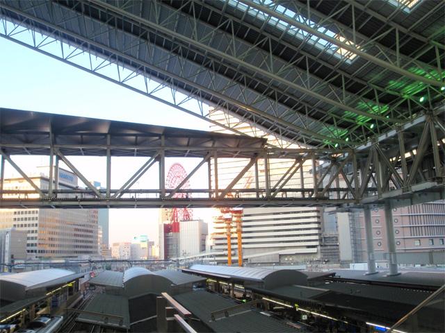新大阪駅からの風景