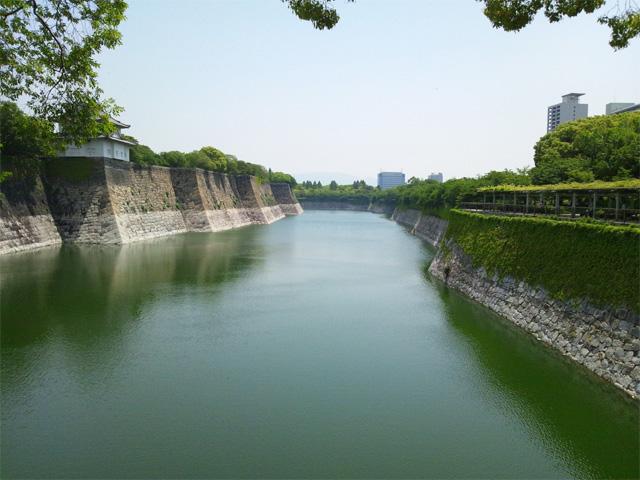 大阪城 外堀