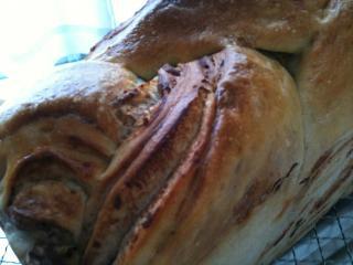 栗あん折り込みパン