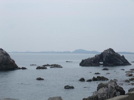 志賀島の海(玄界灘)