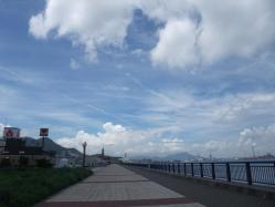 2010.07.17.門司の海(梅雨明け宣言の日)8
